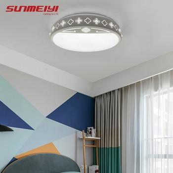 Nowoczesne Aplikacje Sufitowe Z Możliwością Przyciemniania światła Do Salonu Sypialnia Dzieci Oświetlenie Led Do Pokoju Lampy Sufitowe Z Bluetooth Plafones Techo