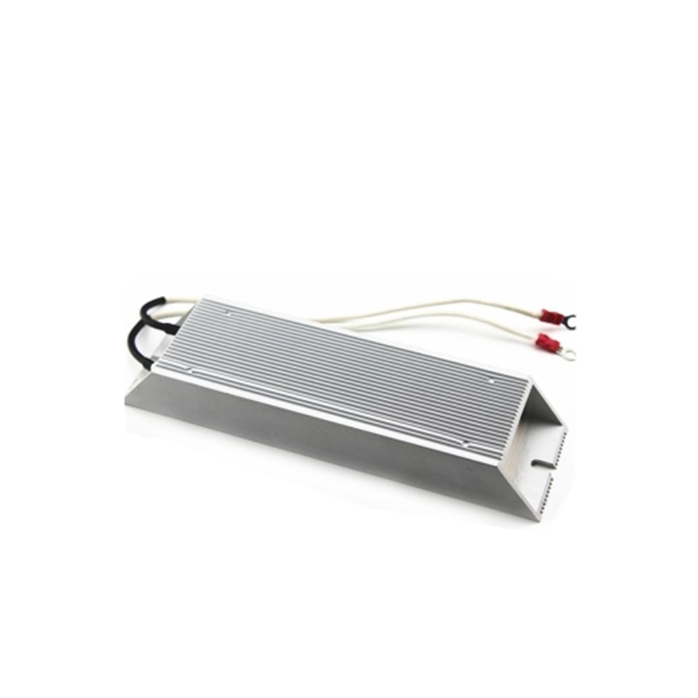 500W 100ohm  Breaking Resistor Aluminum Housed Wire Wound Trapezium Solder Lug 1PC