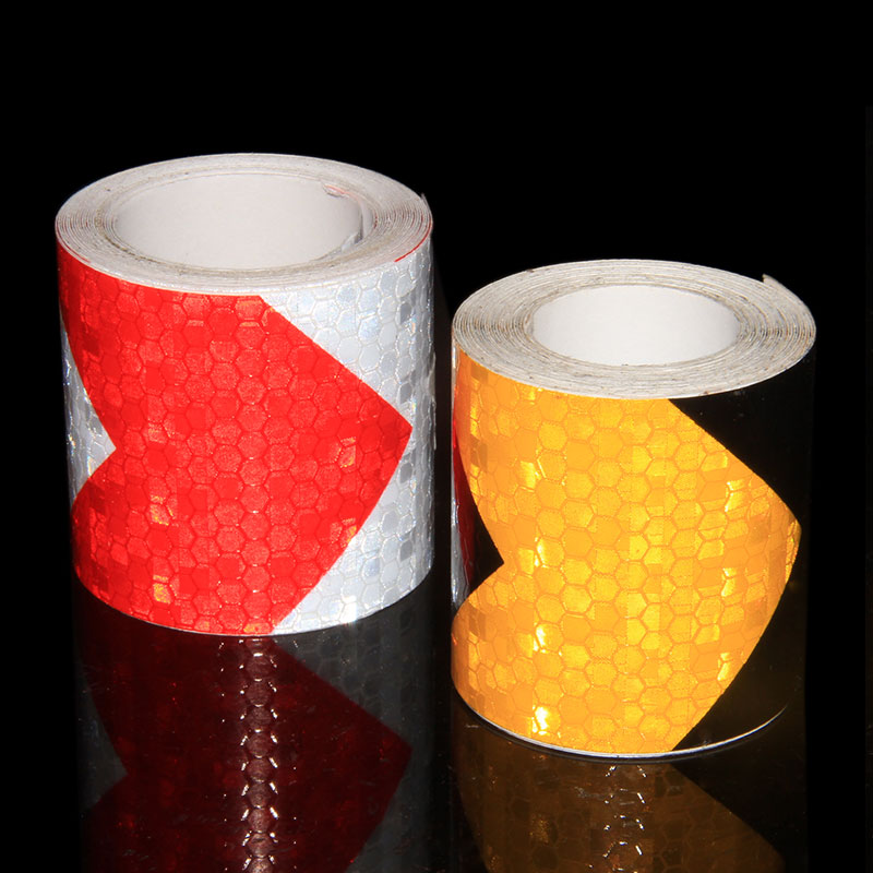 Car Safety Reflector Stickers Reflective Bicycle Trailer Self Adhesive Film Sticker Motorcycle Automobiles	Reflective Tape 5M 10m super strong waterproof self adhesive double sided foam tape for car trim scotch