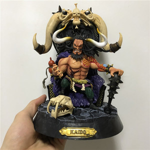 One Piece Kaido Four Emperors PVC Luffy Fighter PVC Action Figures Model Doll Toys 23cm(China)