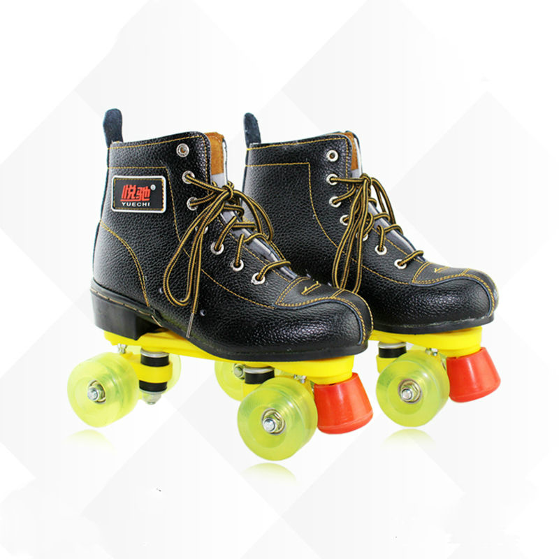 free shipping roller skates size 34-45 quad skates free shipping hockey skates black color 507