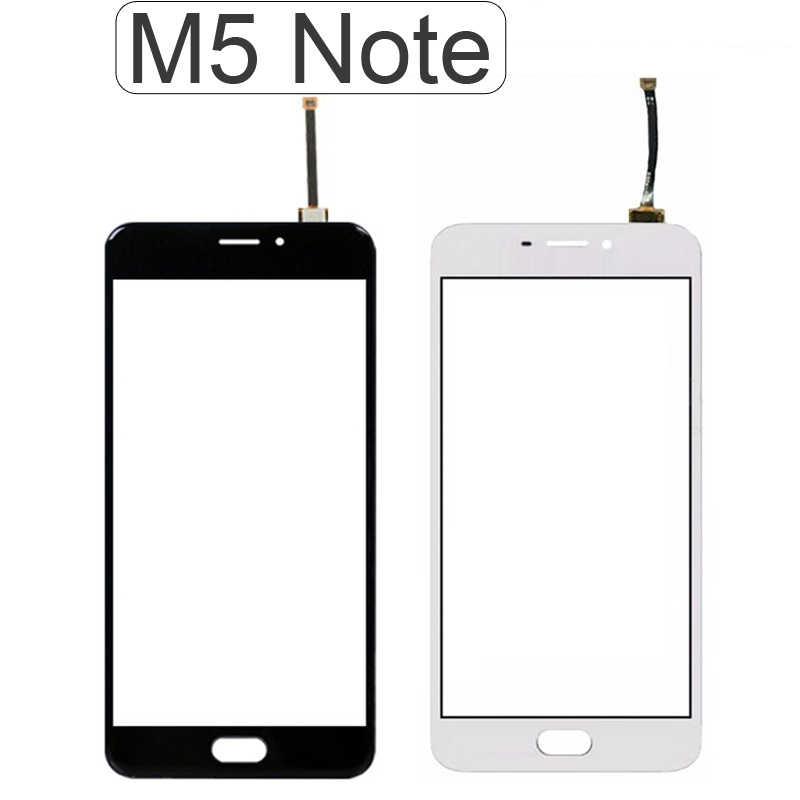M5 ملاحظة صغيرة لمس اللوحة الأمامية ل Meizu M5S M5 ملاحظة صغيرة تعمل باللمس الاستشعار محول الأرقام شاشة الكريستال السائل الزجاج استبدال أداة