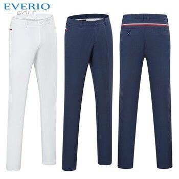 garantía de alta calidad colores armoniosos brillante en brillo EVERIO golf hombres color sólido espesamiento polar golf pantalones otoño  invierno cálido Delgado ...