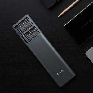 Image 5 - Originele xiaomi Mijia Wiha Dagelijks Gebruik Schroevendraaier Kit 24 Precisie Magnetische Bits AL Doos Schroef Driver xiaomi smart home Set