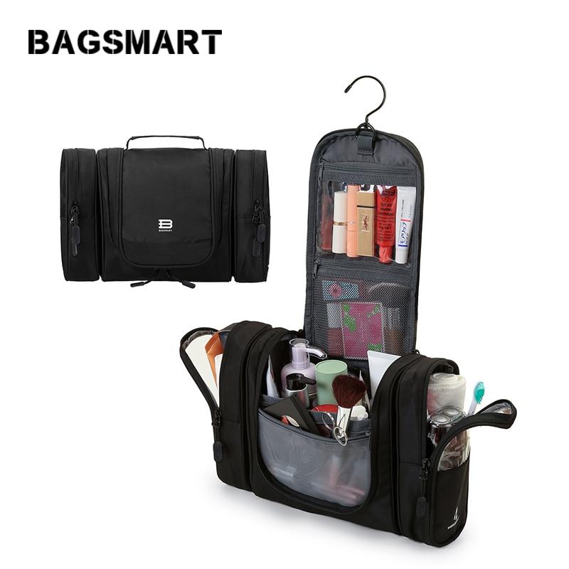 Bagsmart ماء التجميل حقيبة المرأة سفر - حقائب الأمتعة والسفر