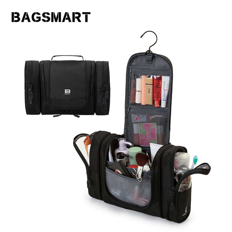 BAGSMART Αδιάβροχη καλλυντική τσάντα για - Τσάντες αποσκευών και ταξιδιού