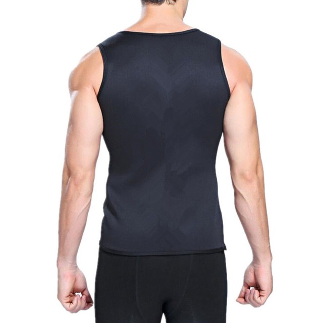 New Men Running Vests Weight Loss Mens Body Shaper Vest Trimmer Tummy Shirt Hot Girdle New Arrival Size M-3XL 4 Color 2