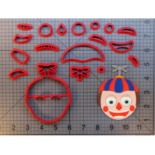 Vedio Game Character Cookie Cutter Set Fondant Cupcake Top Mould Made 3D Printed Kitchen Accessories Cake Mold