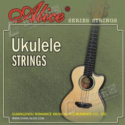 Алиса au04 сопрано Гавайские гитары укулеле строки-A, D, F #, b-ясно нейлон-0.022-0.032