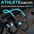 Dacom Беспроводная связь Bluetooth 4.1 наушники Мода Спорт стерео наушник музыкальные наушники с микрофоном и NFC