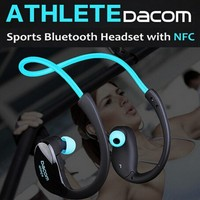 New 2014 Athlete Wireless Bluetooth 4 1 Stereo Headphone Fashion Sport Running Earphone Neckband Headset With