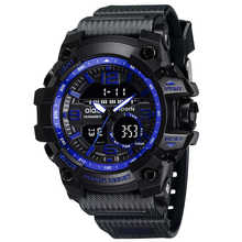 AIDIS brand men's sports watches waterproof military LED digital quartz electronic children watch men clock relogio masculino