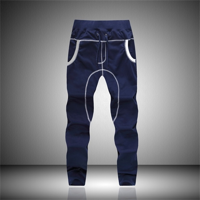Mens Joggers 2016 Brand Male Trousers Men Pants Casual Solid Pants Sweatpants Harem Hip Hop Sportswear Jogger