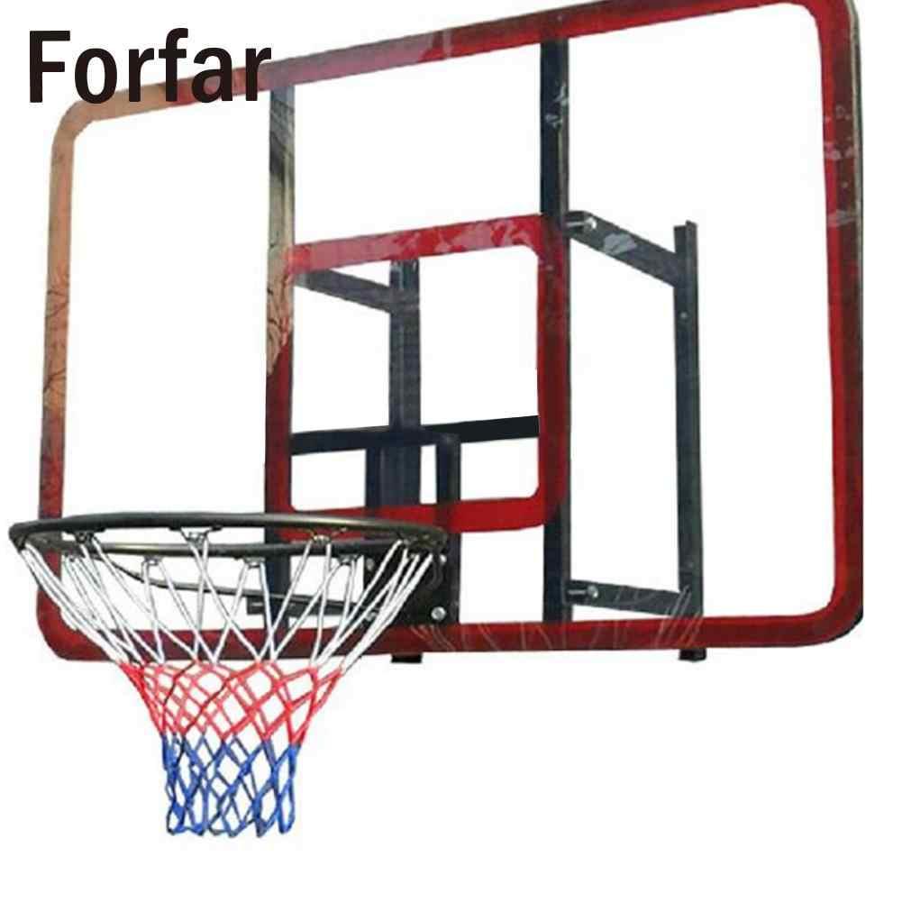 ユニバーサルカラフルなポリプロピレンバスケットボールバスケットメッシュネット屋外屋内