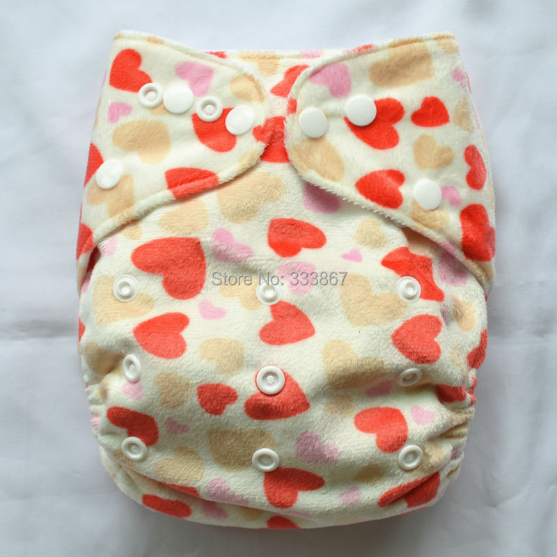 Sigzagor Baby Pocket Cloth Diaper Nappy,Reusable ABC Round Tabs 8lbs to 36lbs