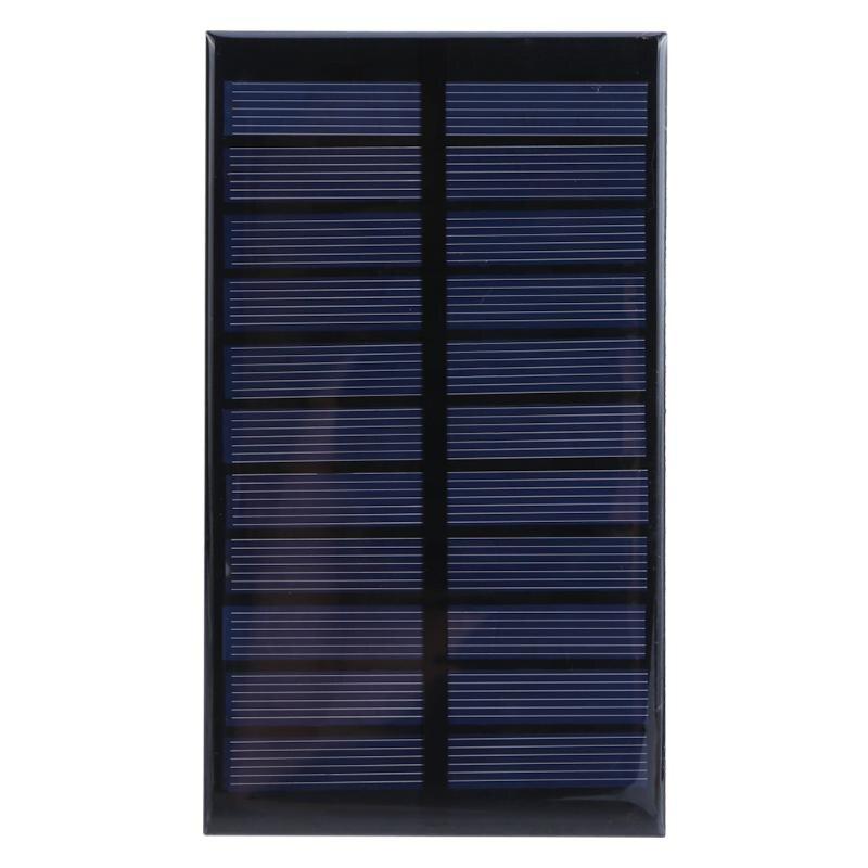 Alloyseed 1.6W 5.5V Solar Panel Polycrystalline Stored Energy Power Solar Sun Power Charger DIY Board for Lighting Street Lamp