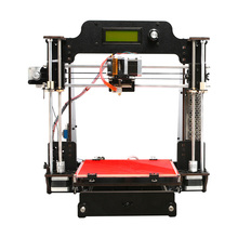 Wifi Cloud 3D Printer DIY KIT Pro W LCD Carbon Steel Rods 200x200x180mm Support ABS PLA