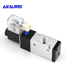 Electromagnetic reversing valve for pneumatic components 3V310-10 solenoid valve 220V 24V AC DC 12V 24V 36V 380V цена и фото