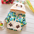 Nuevo Diseño de Otoño/Invierno Bebe Infantil Baby Girl Boy Camuflaje Nieve Capa de la manera Outwear wadded chaqueta del bebé prendas de vestir exteriores de los niños