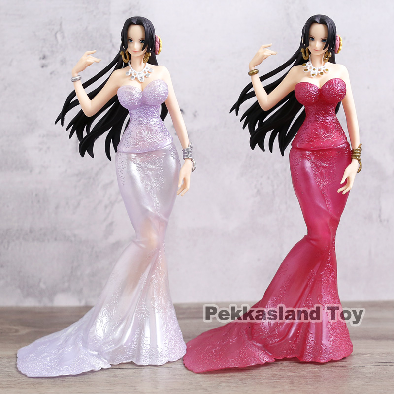 Anime One Piece Sexy Figure Glitter & Glamours Boa Hancock Crash Style PVC Action Figures Collectible Model Toys Doll anime one piece figuarts zero boa hancock despise japan anime pvc action figure resin collection model doll toy gifts cosplay