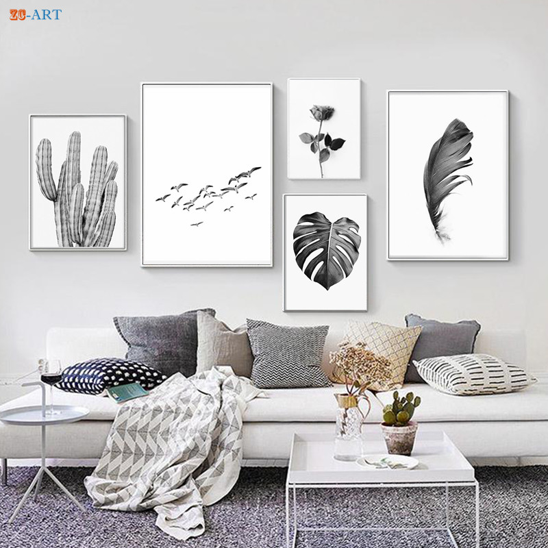 Floral Tropical Orchids Butterfly Wall Art Canvas Print Great Value sq