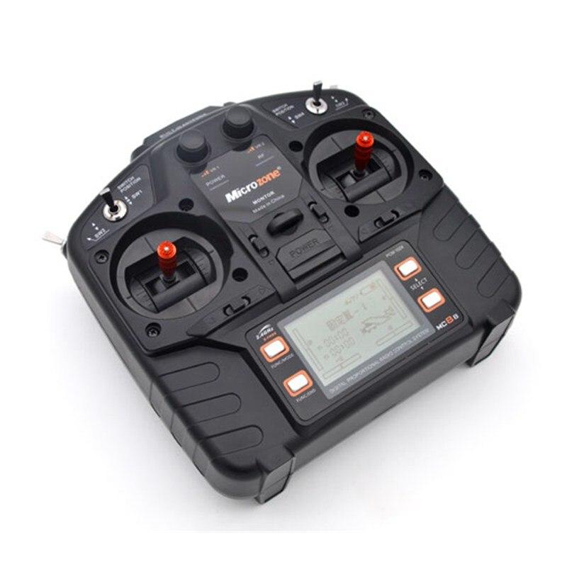 Microzone MC8B 2.4g 8CH Trasmettitore di Telecomando e MC8RE 8CH Ricevitore sistema radio per RC aerei ad ala fissa elicottero drone-in Componenti e accessori da Giocattoli e hobby su  Gruppo 3