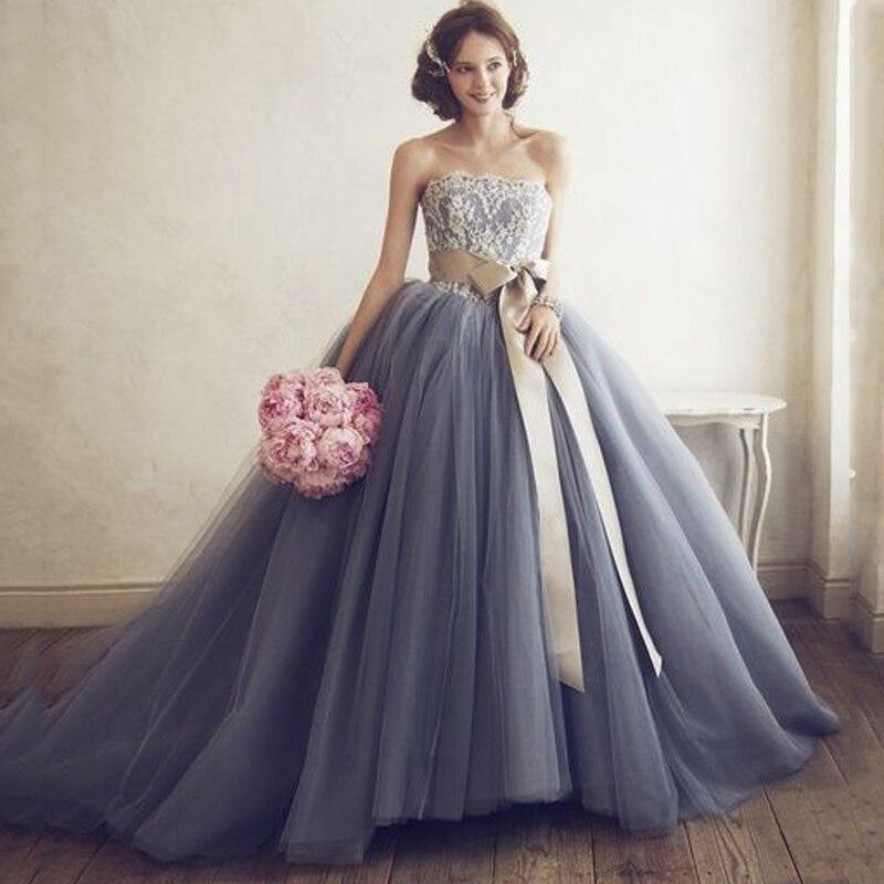 2017 Prettiest Blue Wedding Dresses Like No Other Fabulous Princess ...