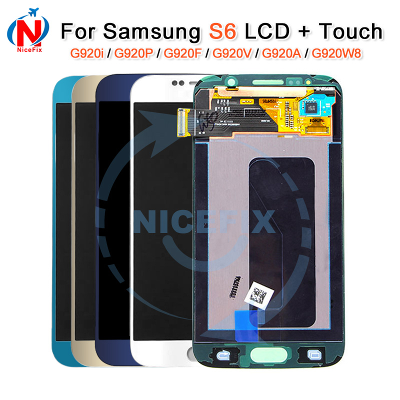 For Samsung galaxy S6 G920F G920i G920P G920V G920A G920W8 lcd display touch screen digitizer assembly