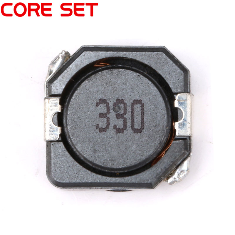 10pcs/lot SMD Power Inductors 33uH 330 Wire Wound Chip Shielded Inductor High Quality CDRH104R
