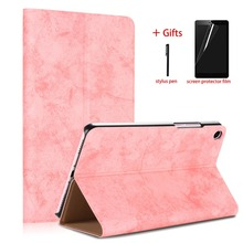 цены на Ulrt Thin Case For xiaomi mi pad 4 mipad4 8 inch PU Leather Tablet Protector PC Stand Smart Cover For Xiaomi Mi Pad 4 8.0