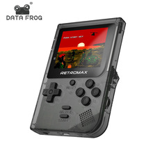DATA FROG Retromax 8 Bit Mini Handheld Game Console Built-in 181 Games 3 inch LCD Video Game Player Kids Gifts for 2019 New цены