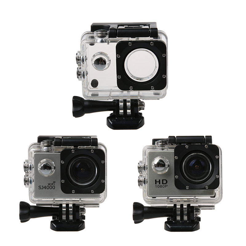 Diving Swimming Camera Waterproof Case Protective Shell For Sjcam Sj4000 Action Sport Cameras Dja99 Clear-Cut Texture Camera/video Bags