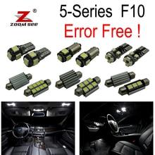 20pc X Canbus for BMW 5 Series F10 520i 528i 530i 535i 550i M5 LED font