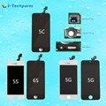 10 unidades/lotes SEM PIXEIS MORTOS, de alta qualidade para o iphone se display lcd e tela de toque digitador quadro assembléia para iphone 5 5c 5s