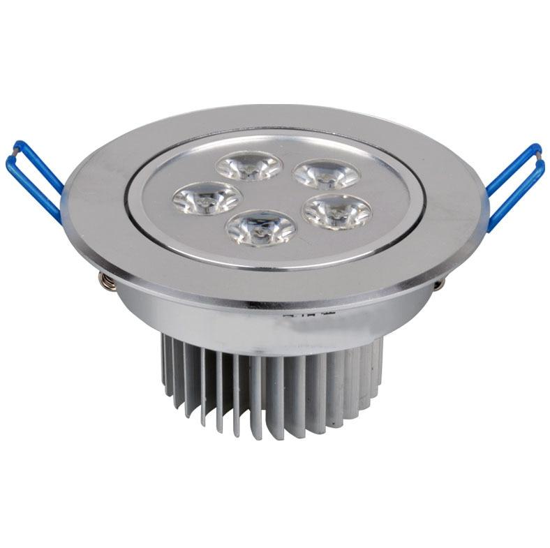 LED high Ceiling Lighting Lamp Aluminum 85V-265V 5W 500lm ceiling light for shop bar white and warm white color