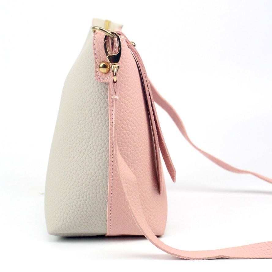 цены  Women Shoulder Bag Top Quality Fashion Hot Color Stitching Handbag Large Tote Ladies Purse Bolsa de ombro 2017