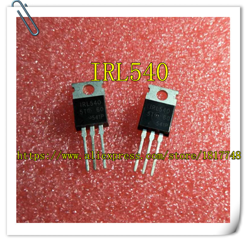 IRL 540 TRANSISTOR POWER MOSFET IRL540