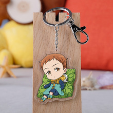 Japanese Anime The Seven Deadly Cartoon Figure Car Key Chains Holder Best Friend Graduation Chirstmas Day Gift
