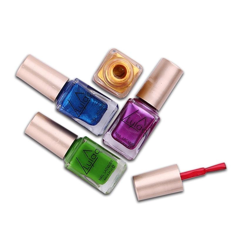LULAA Optional Nail Lacquer Spray Printing Dedicated Stamp Polish ...