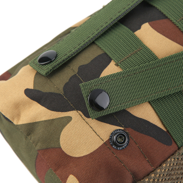 Good Selling Outdoor Hiking Camping Waist Bag High Quality Military Phones Survival Bag Portable Small Belt Waist Bag Pack