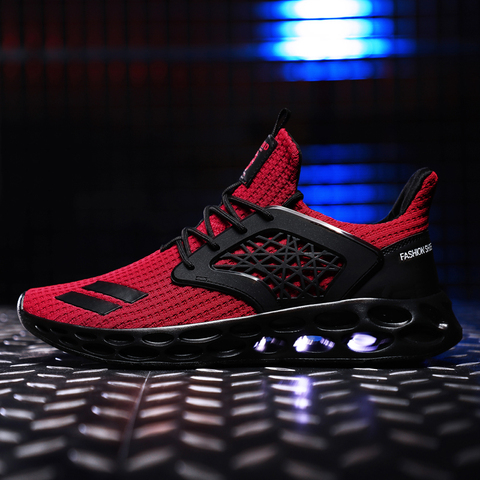 New Spring 2019 Hot sale Comfortable Running Sports For Men Outdoors Activities trainers Wear-Resistant Breathable man Sneakers Islamabad
