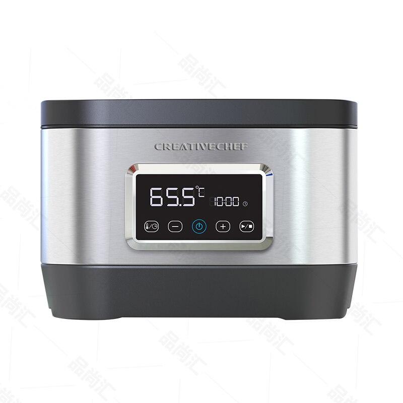 Vide Lent Aliments Sous Vide Cuisinière 700 W Puissant Basse Température mijoteuse Machine LCD minuterie numérique Affichage acier inoxydable