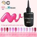 UV & LED Nail Gel Polish Pink Color Nail Gel Varnish Cheap Price Manicure Color UV Gel Nail Polish
