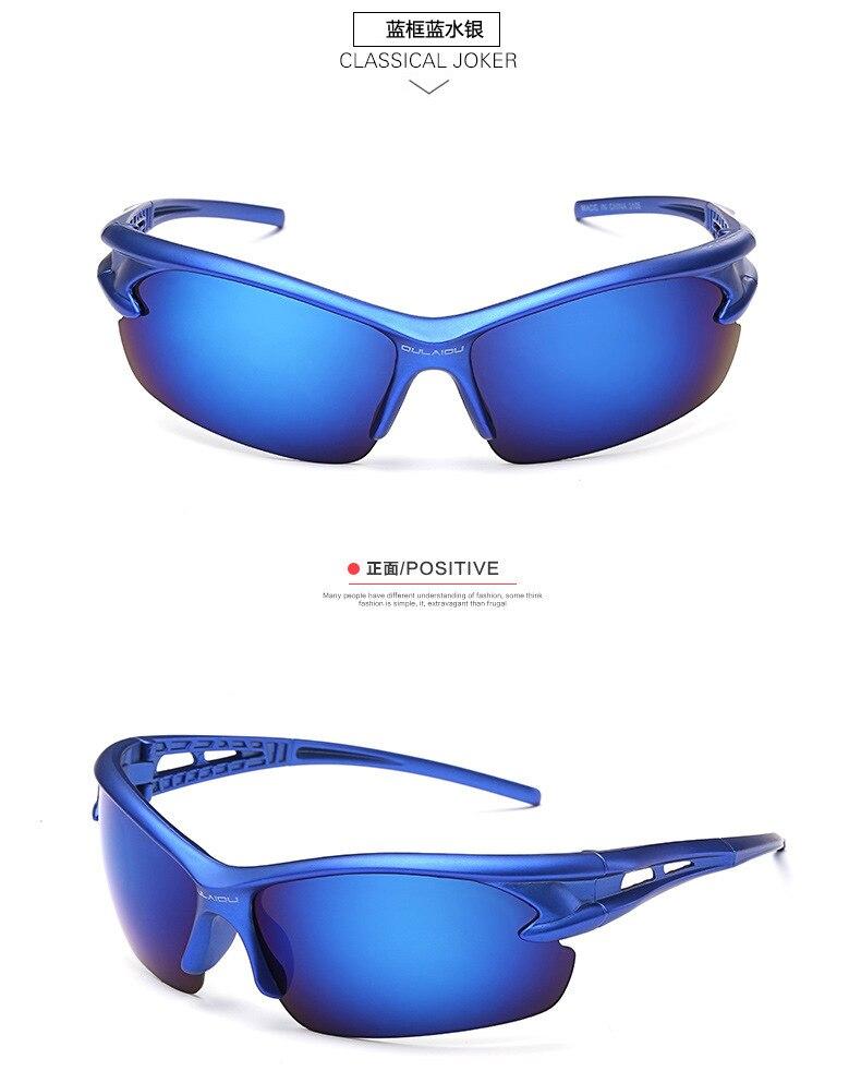 2018 Outdoor Uv400 Mode Sonnenbrille Männer Frauen Kühlen Sport Auge Schützen Glas Laufsport Angeln Brillen Brille Geschenk Einen Einzigartigen Nationalen Stil Haben
