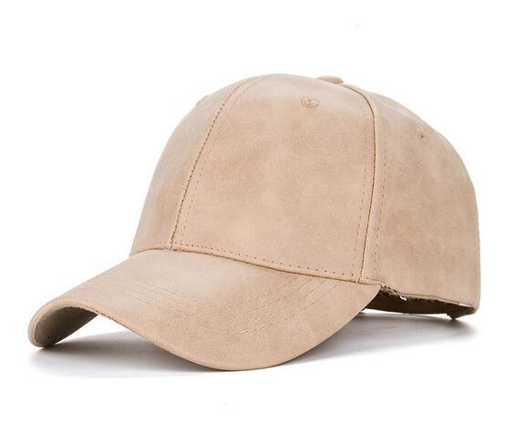 Оптовая Осень Зима Атласная Кожа Pu Сплошной цвет Бейсболка Старинные Случайные Шляпу Snapback Adjuatable Бейсболки Для Взрослых