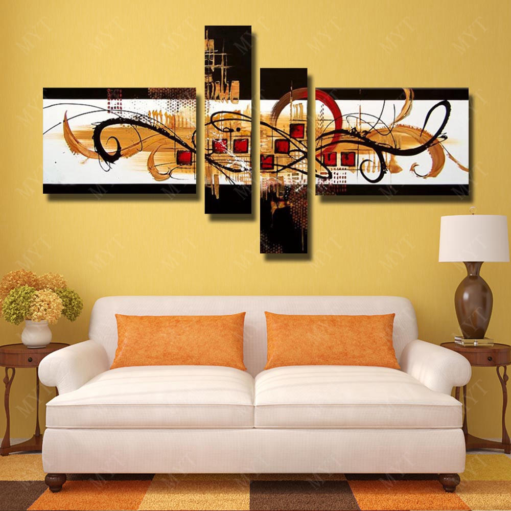 Paintings For Living Room Wall Aliexpresscom Buy Wall Picture No Framework Handmade Painting