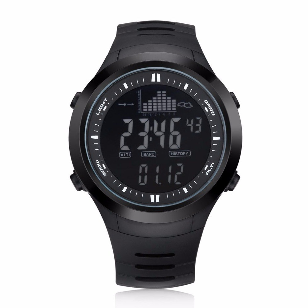 OUTDOOR SPORT WATCH Men Sport Waterproof 30m Digital Watch men Swimming Wristwatch SUPPORT Weather Forecast New комод мастер милан 14 мдф орех мст кдм 14 ор пм