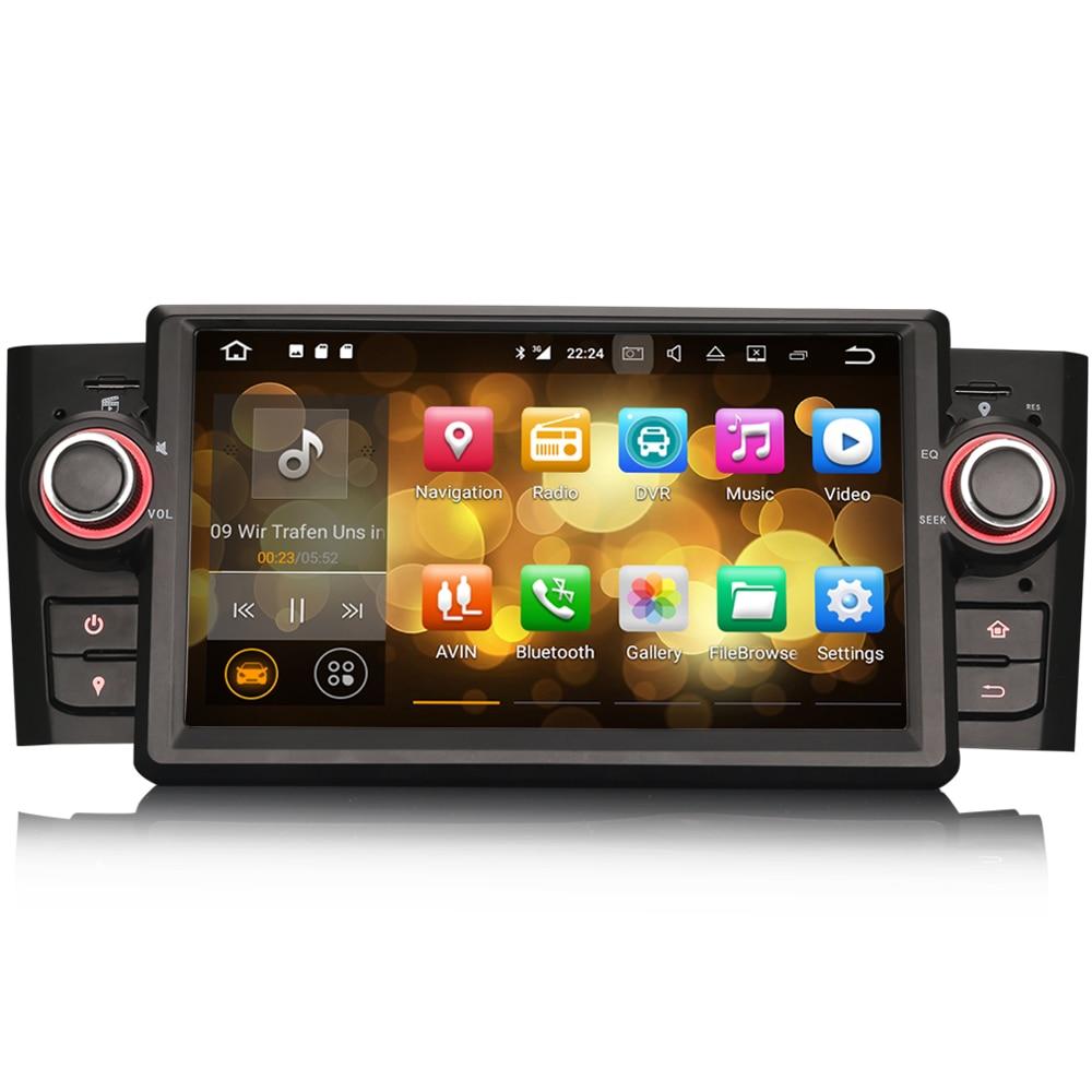 7 Android 7.1 Car Multimedia Player for Fiat Punto Linea Linea Autoradio GPS WiFi DAB+DVR USB Bluetooth SD OBD