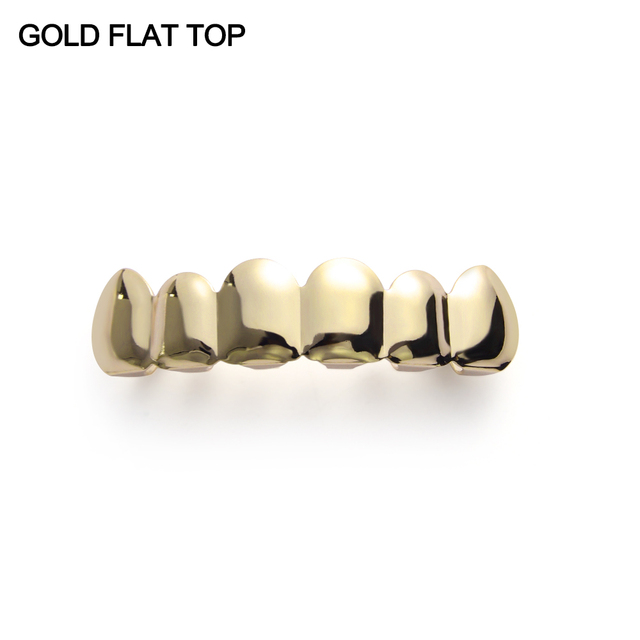 1Pcs Hip Hop Gold Teeth...
