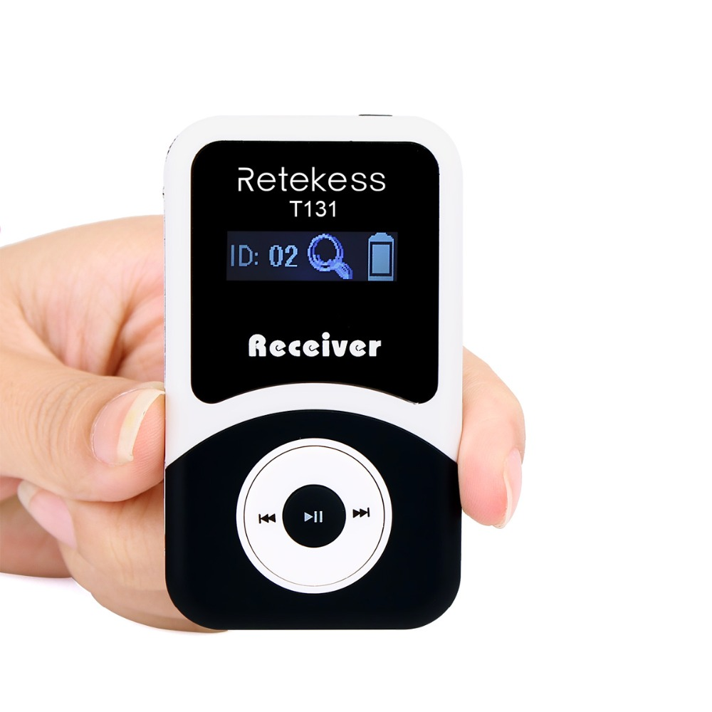 Retekess Wireless Receiver for Tour Guide system Simultaneous Translation Interpretation Teaching System Meeting Church F4505 недорго, оригинальная цена